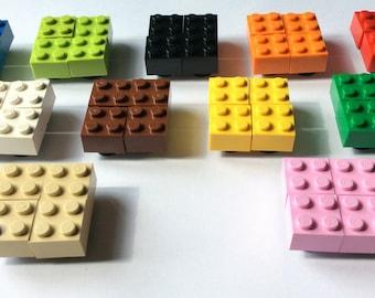 4 Valve Lego Dust Caps Uni Fit Dustcap, Choice Of Colours