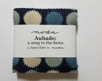 Aubade: a song to the dawn mini charm pack by Moda