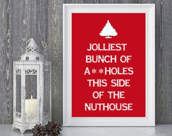 Items Similar To Christmas Vacation Inspired Christmas Card Christmas Tree Christmas Card