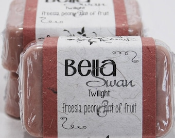 Bella Swan The Twilight Saga Glycerin Soap Bar - Handmade Custom Book Character Scent - Fragrance