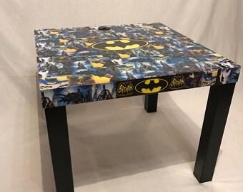 Batman table charging station