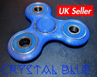 Fidget spinner toy - 3D printed crystal colors - spinner fidget toy|hand spinner|edc spinner|hand spinner|pocket spinner|torqbar|fidget cube