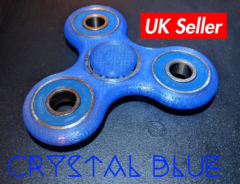 Fidget spinners qatar - Fidget Spinner Toy 3d Printed Crystal Colors Spinner Fidget Toy Hand Spinner