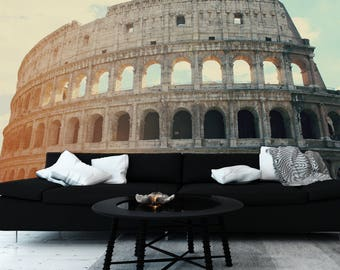 The Colosseum Mural | Adhesive wall mural | adhesive wallpaper | removable wallpaper | removable wall mural | wallpaper mural