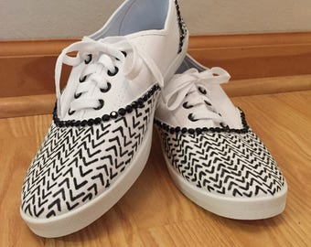 Chevron/Arrow Sneakers