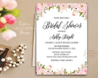 Bridal Shower Printable, bridal shower invitation, bridal shower invitation rustic, bridal shower invites, bridal shower invitation template