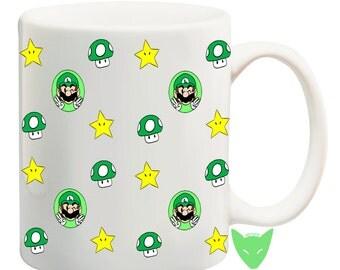 Luigi Mug {Mario Bros.}