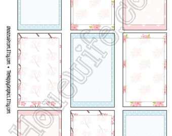 Happy Planner stickers [97] , Full box, A5 PDF, Instant download