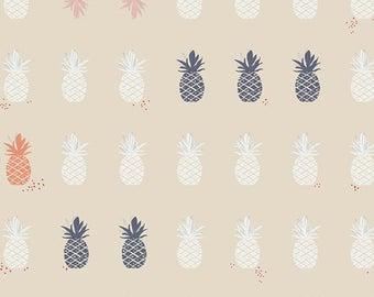 Ananas in Cream - Art Gallery cotton fabric