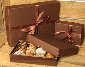 Handmade Chocolate Truffle Selection Box