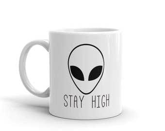 Stay High Mug | Lazy Mug | Funny Coffee Mug | Weed Coffee Mug | Cannabis Mug | Weed Mug | 420 Mug | Vape Mug | Vaping Mug | Stoner Mug