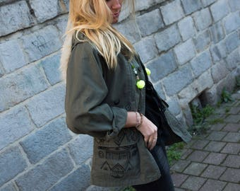 "Customized military jacket ""Berber"""