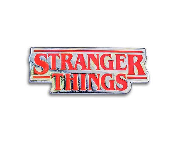 Strange Logo Pin