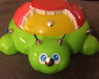 """Circuit Bent """"Turtle"""" Toy"""