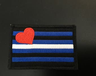 Leather Pride Patch 3x2