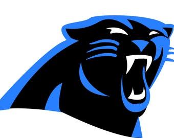 Carolina Panthers logo Svg digital download, Svg, PNG, JPG, EPS