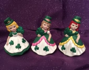 SHAMROCK FIGURINES