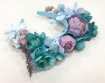Spring Flower Crown/Snapchat filter headband