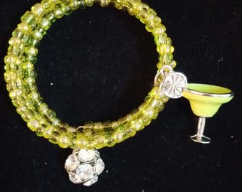Lime Margarita Wrap Bracelet
