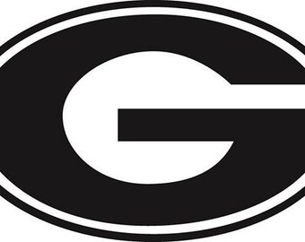 UGA GA Georgia Bulldogs Dawgs Vinyl Decal