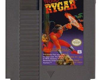 Vintage RYGAR Nintendo Nes Game Cartridge