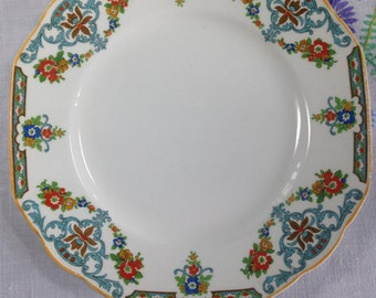 Grindley Plate, Grindley Pottery, Decorative Plate,