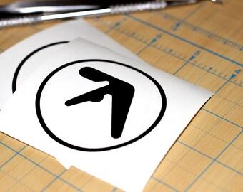 Aphex Twin Logo Vinyl Sticker