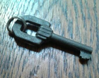 Art Deco French key