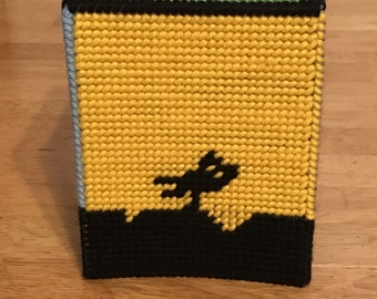 Mystery Science Theater 3000 Tissue Box -- Plastic Canvas -- FREE SHIPPING
