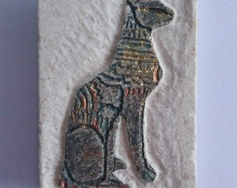 Temple Cat Magnet