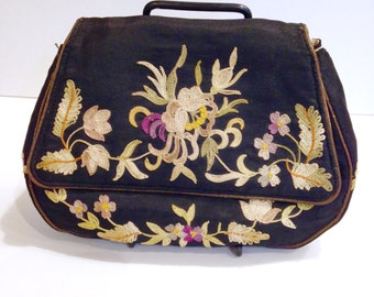 Art Deco 1920s Embroidered Bag