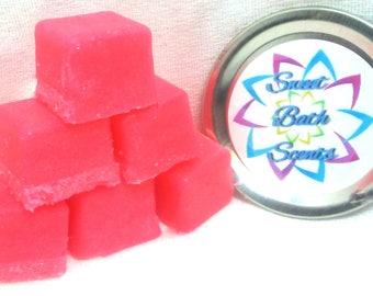 Rose Sugar Cube Scrub - Rose Sugar Scrub - Sugar Cube Sugar Scrub - Cube Sugar Scrub - Spa Gift - Gift Idea - Soap Sugar Scrub - Scrubs
