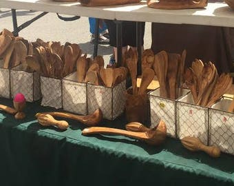Olivewood Spoons, Ladles, Juicers
