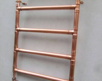 Industrial style copper radiator