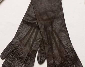Vintage Leather Gloves Made In France