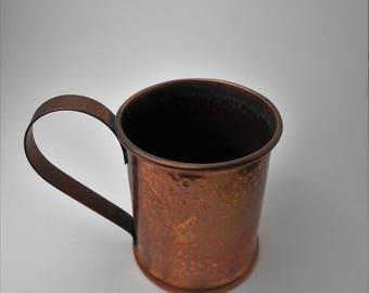Vintage French Copper Mug / Cup
