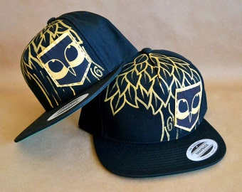 Pueo Pockets Golden Pueo (Owl) Snapback Hat