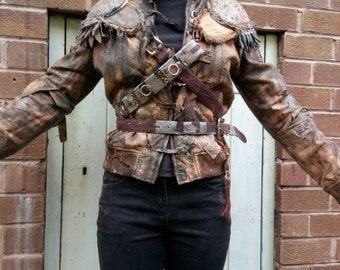 Apocalyptic Wasteland Wreckage Pauldrons/ Shoulder Armour