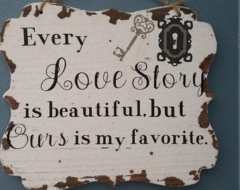 Wall decor, Wall Hanging, Love story