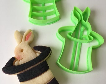 Magic Bunny Hat Cookie Cutter Set