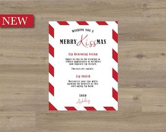 rodan + fields / merry kiss-mas card / personalized
