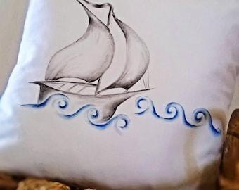 Boat in the Aegean