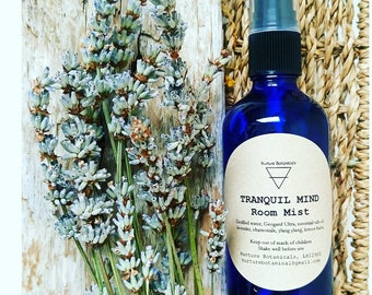 Tranquil Mind Room Mist with Pure Essential Oils