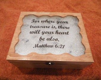 Christian jewelry box
