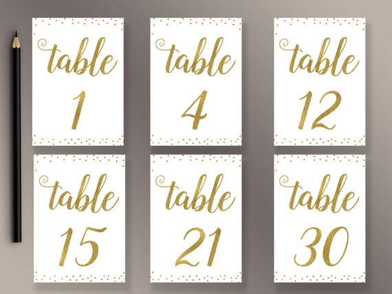 Current image intended for free printable table numbers 1 30
