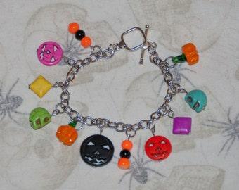 Halloween Fiesta Charm Bracelet