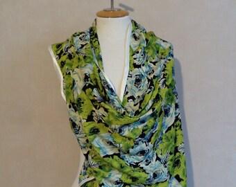 Stole, microfibre blossom, shawl, bridal shawl, brodal stole, accessory,