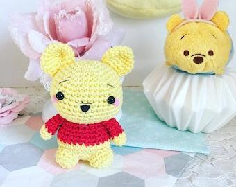 Winnie the Pooh crochet amigurumi plus