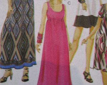 McCalls pattern  M5893 Maternity Sewing Pattern,  Dress Pattern size 8-10-12-14-16