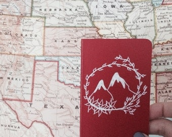 Red mountain pocket book